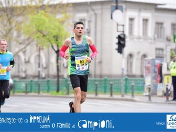 Pe traseu la Bucharest 10k